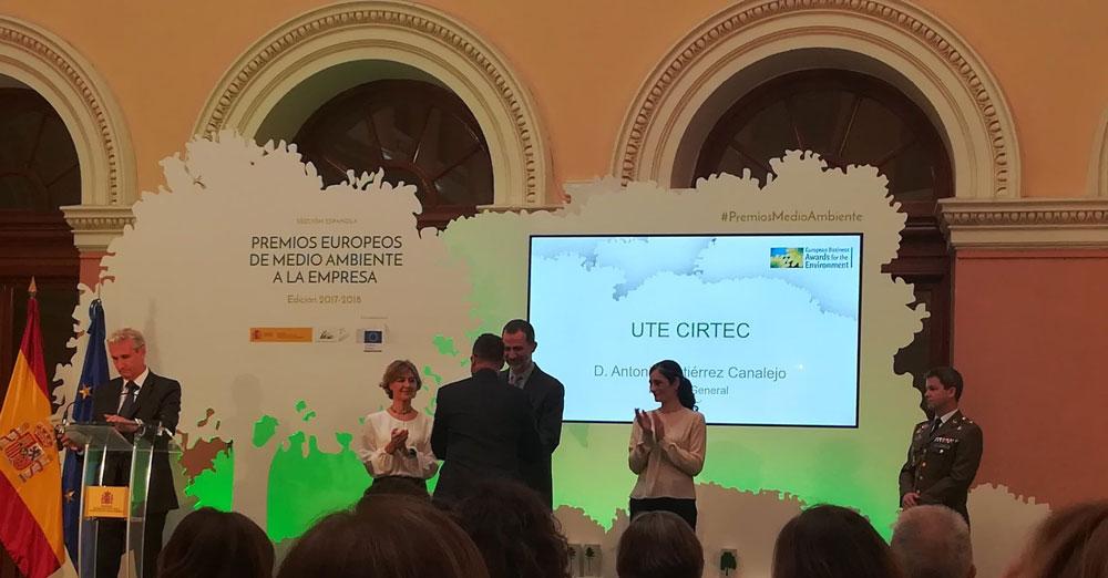 premio medio ambiente para Cirtec