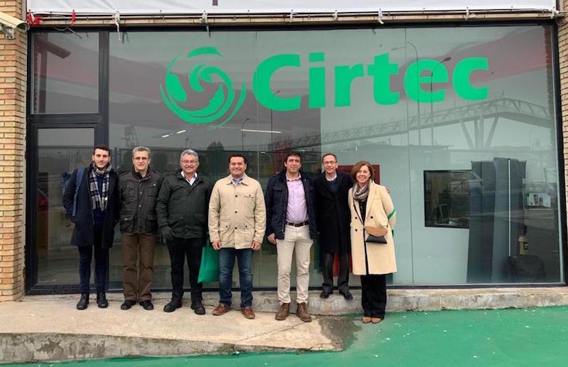 Visita municipalidad de Mérida (México) a las instalaciones de Cirtec