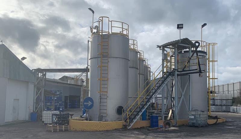 Planta de Fabricación de Betunes Modificados